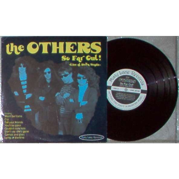 The Others So Far Out! - Live At Delta Studio (Italian Ltd 8-trk vinyl 10LP on Misty Lane Records lbl full ps)