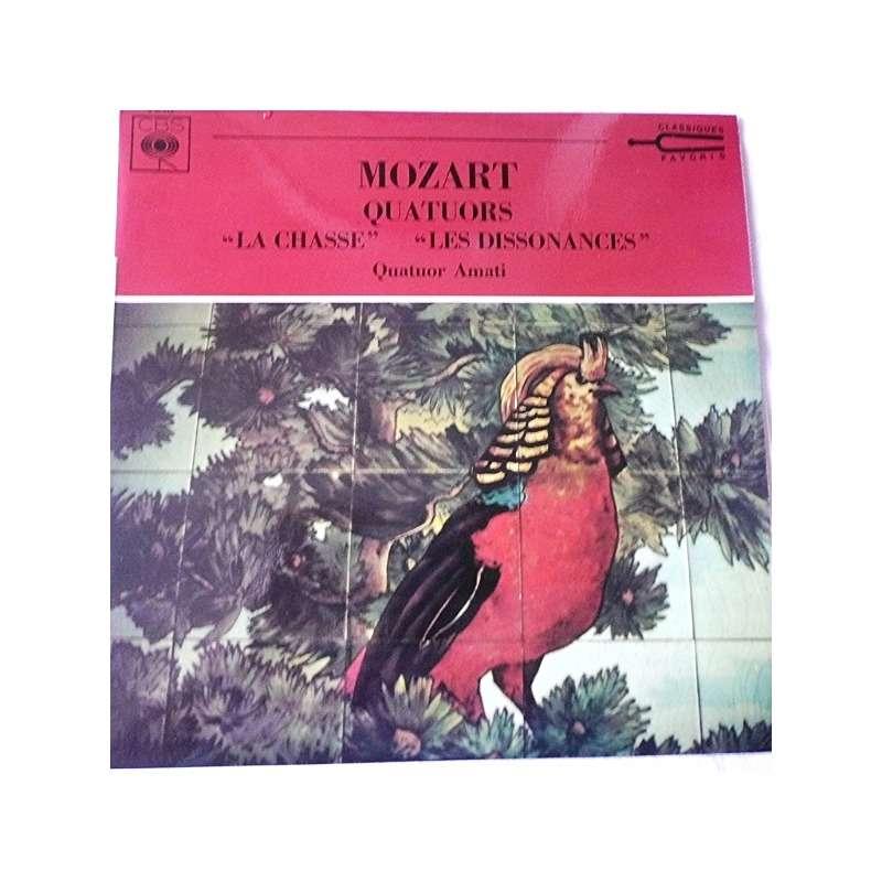 quatuor amati MOZART: quatuors à cordes K 458,la chasse / k. 465,les dissonances