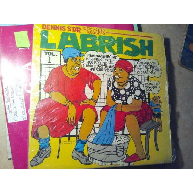 VARIOUS ARTISTS DENNIS STAR PRESENT LABRISH VOL 1 ORIG