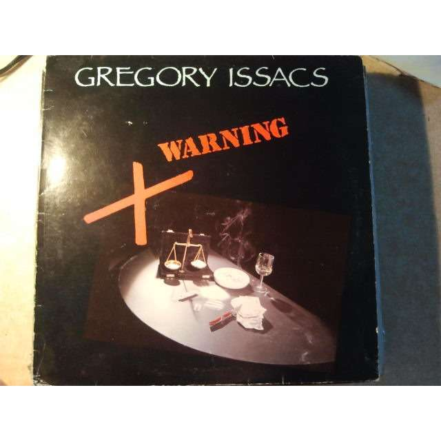GREGORY ISAACS WARNING ORIG.