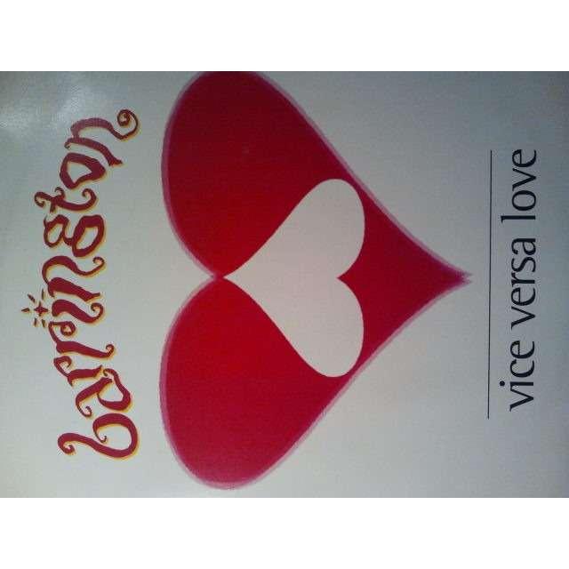 BARRINGTON LEVY VICE VERSA LOVE / UNDER ME SENSI / NOTHINGS CHANGED ORIG.