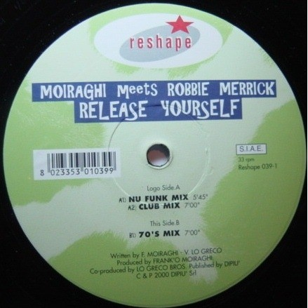 Frank 'O Moiraghi Featuring Amnesia - Feel My Body (Rollo's Remixes)