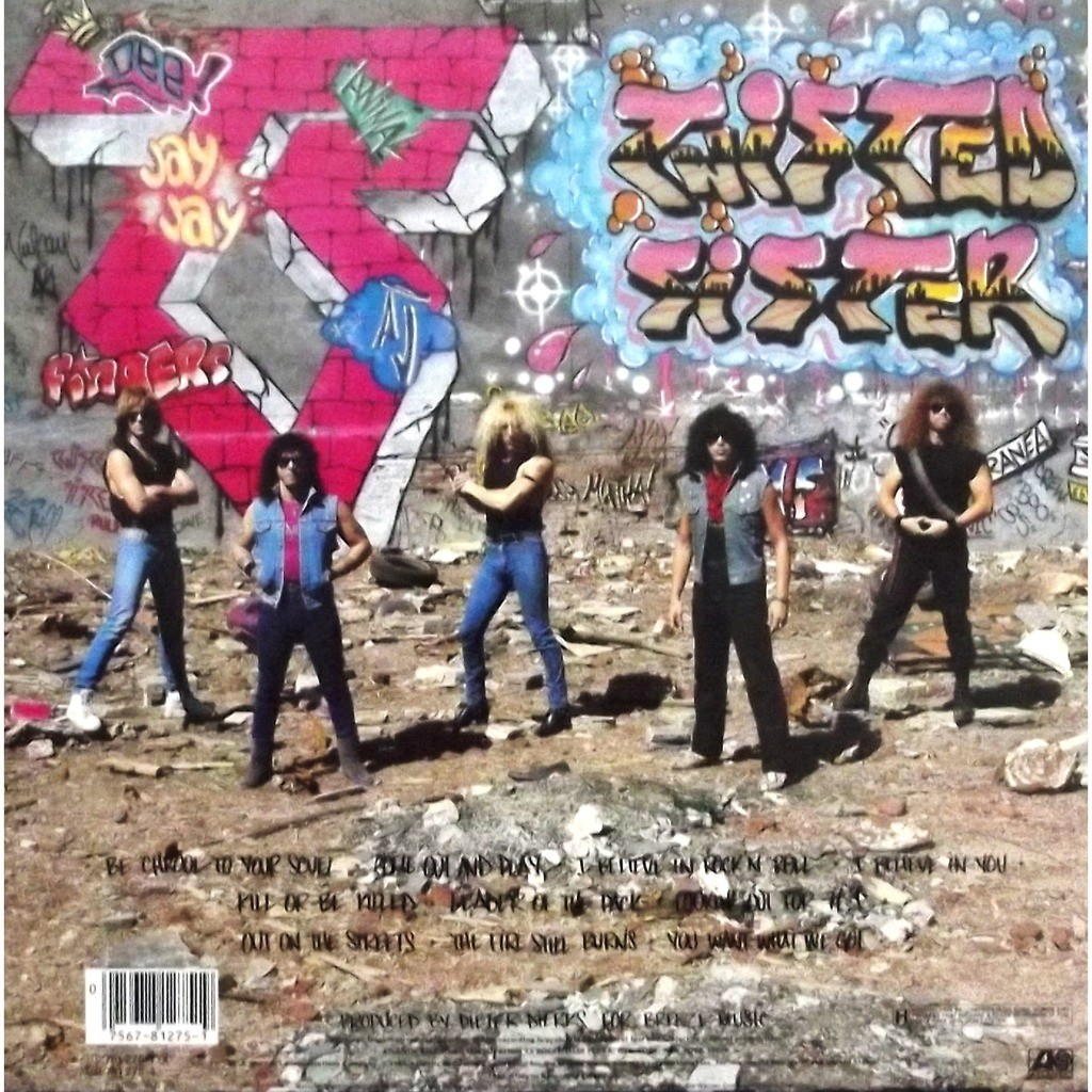 Come Out And Play By Twisted Sister, LP With Vinyl59