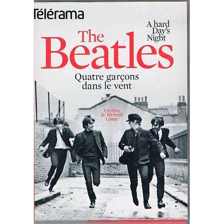 beatles a hard day's night - Quatre Garçons Dans Le Vent (Telerama edition)