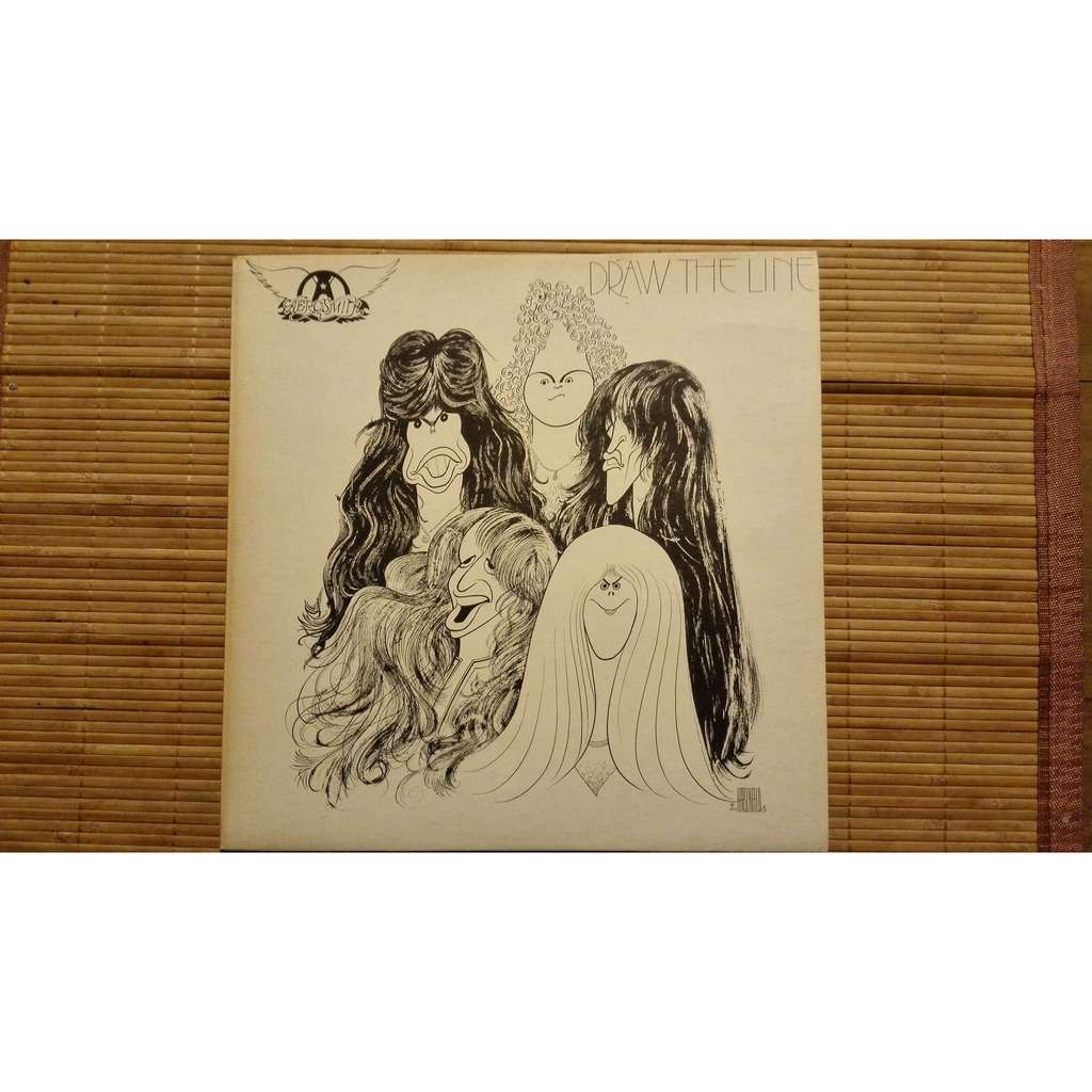 Draw The Line By Aerosmith Lp With Mabottecchia Ref 117783303