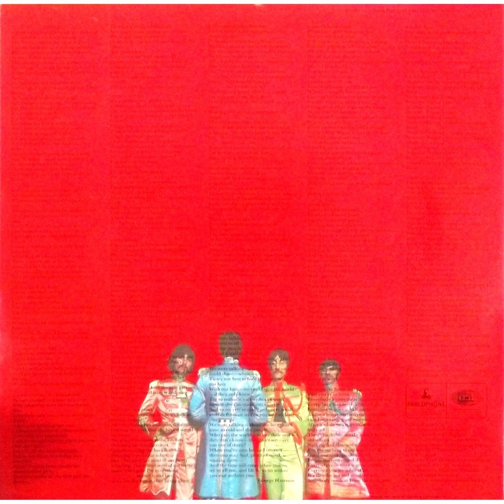 Sgt Pepper S Lonely Hearts Club Band Gatefold Cut Outs