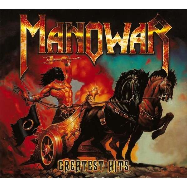 Greatest Hits By Manowar Cd X 2 With Techtone11 Ref