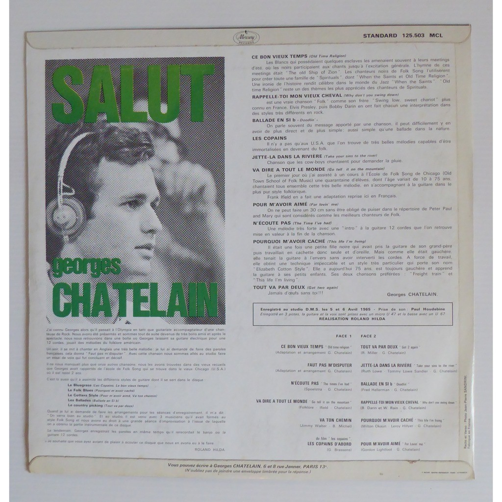 georges chatelain salut
