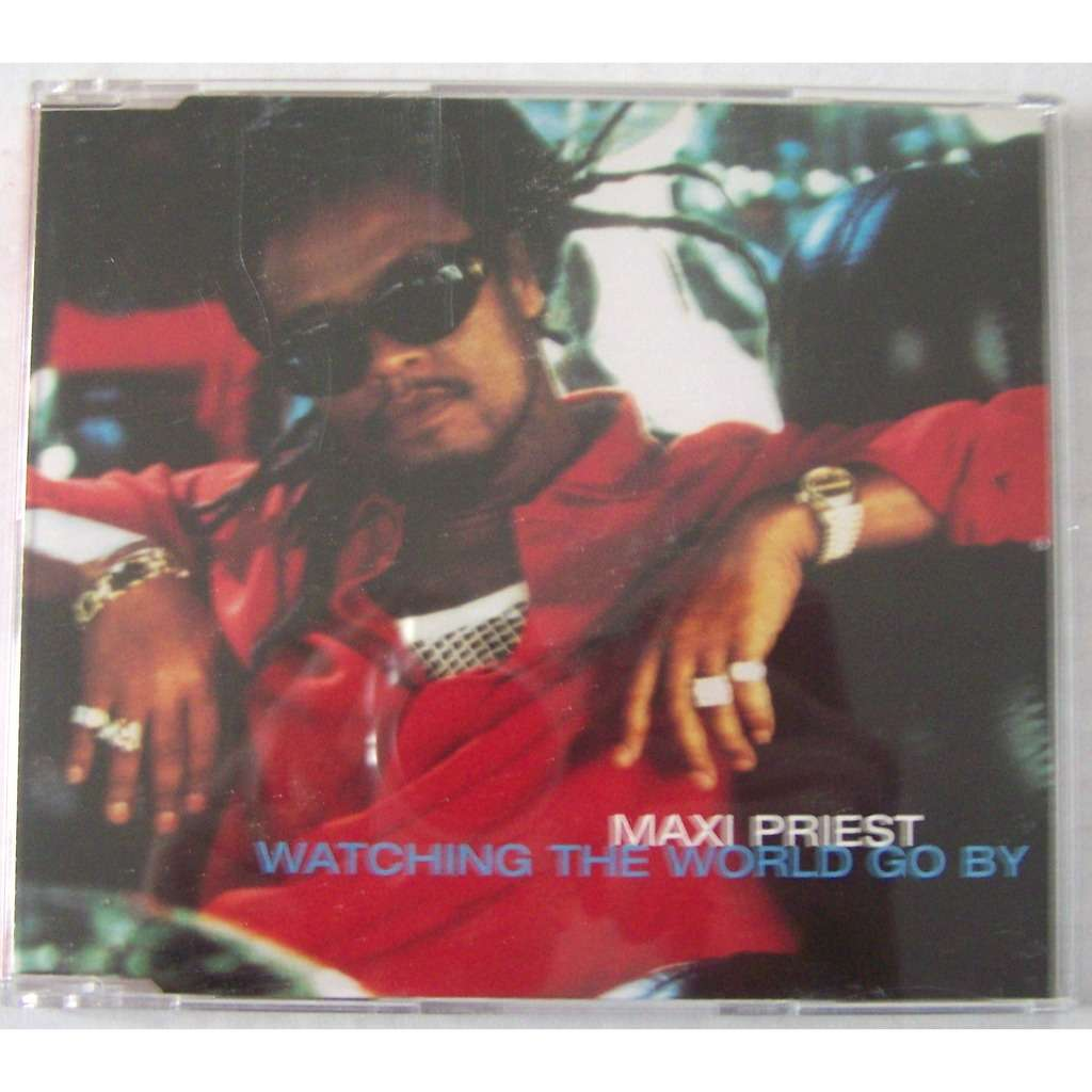 Maxi Priest Maxi CD single 3 titres Watching the world go by parution 1996