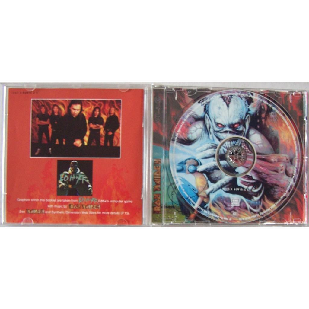 Iron Maiden Album CD 8 titres original parution 1998