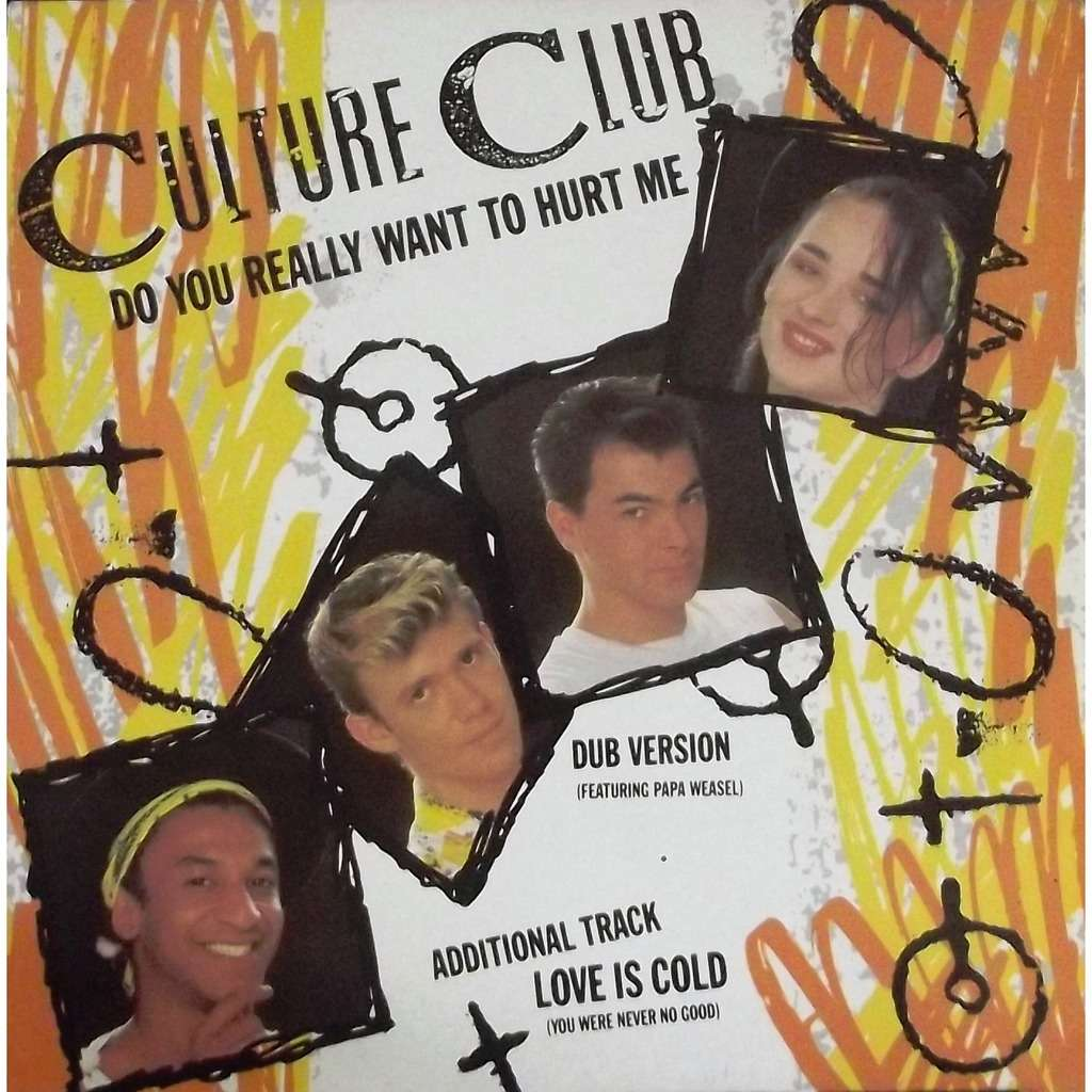 do you really want to hurt me culture club 12 45回転