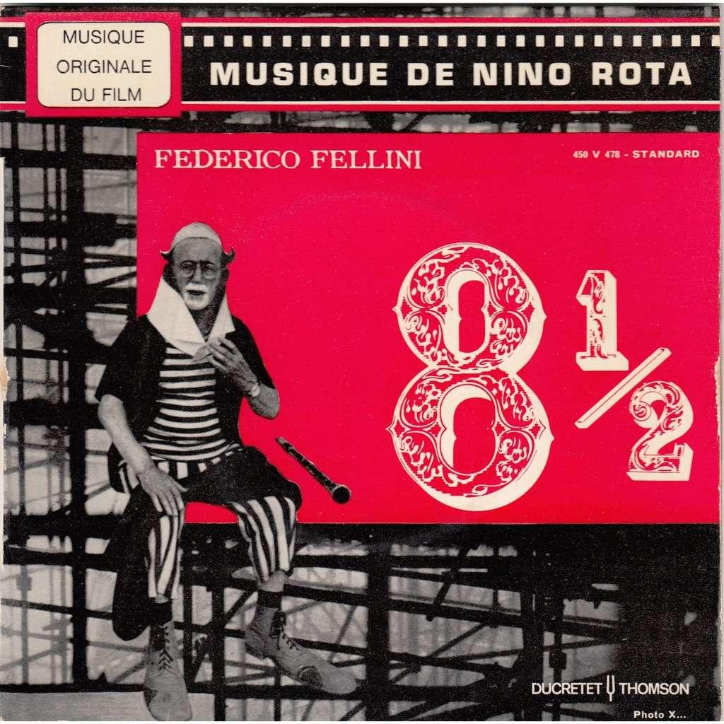 nino rota bande originale du film 8 1/2 de Fellini