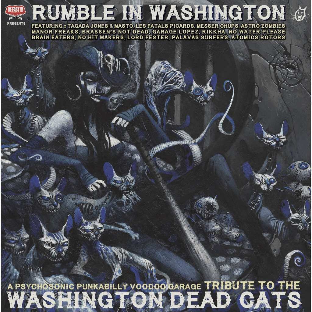 BE FAST : Washington Dead Cats Rumble in Washington - CD