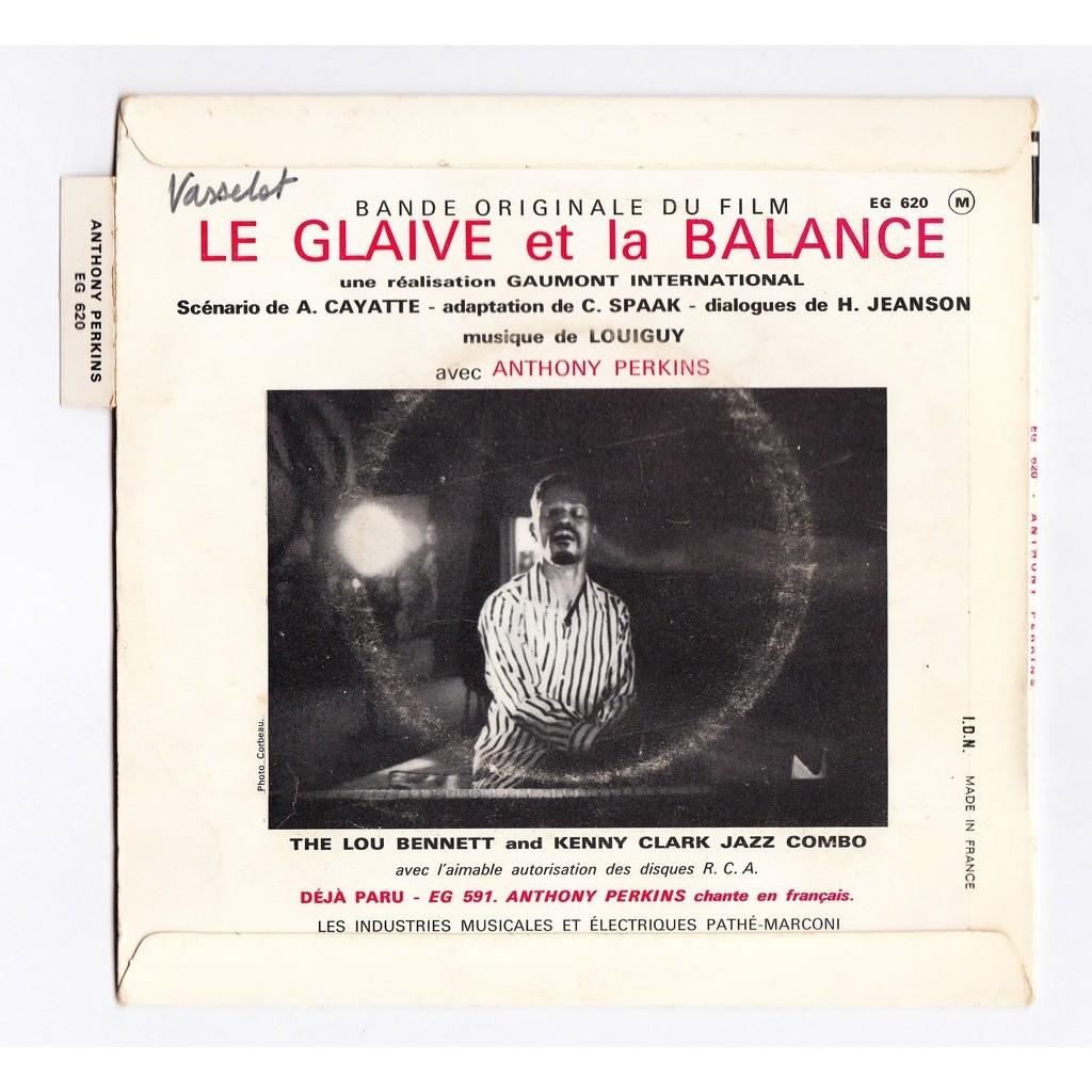 louiguy - LOU BENNET-KENNY clark-anthony perkins le glaive et la balance BO/OST