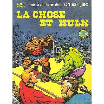 album des fantastiques 20 la chose et hulk