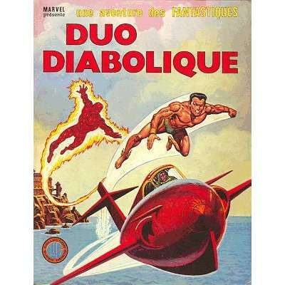 album des fantastiques 22 duo diabolique