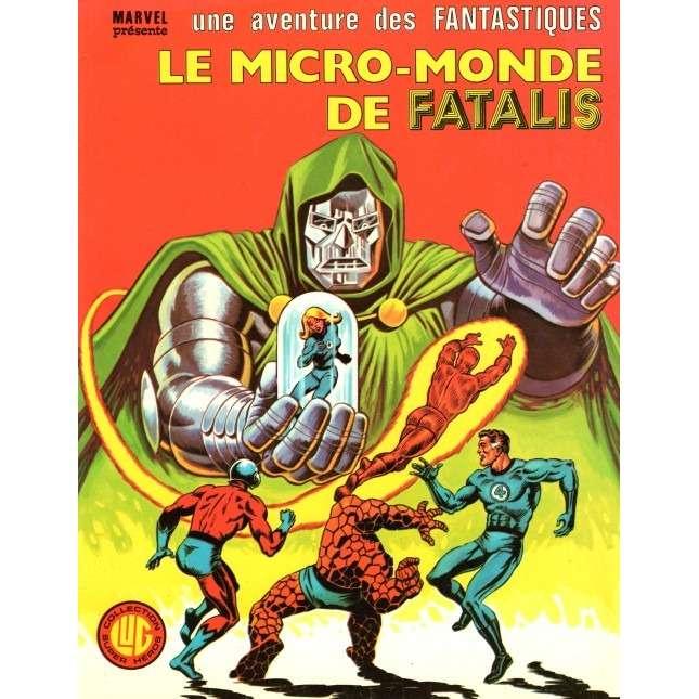 album des fantastiques 26 le micro monde de Fatalis