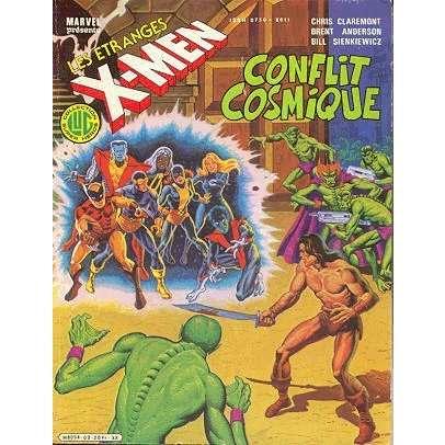 les étranges x men 2 conflit cosmique