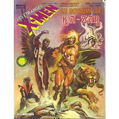 les étranges x men 4 au royaume de Kazar