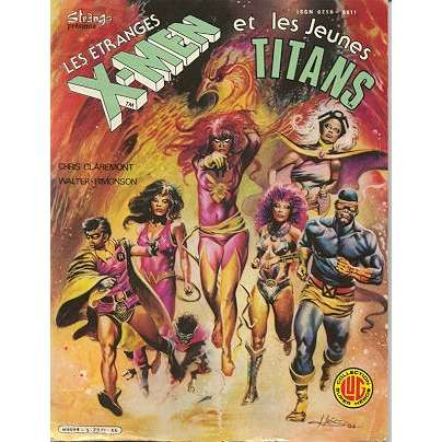 les étranges x men 5 Les étranges X Men et les jeunes Titans