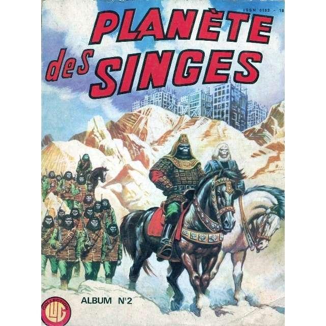 la planète des singes album relié 2 (n°6, 7, 8, 9 et 10)