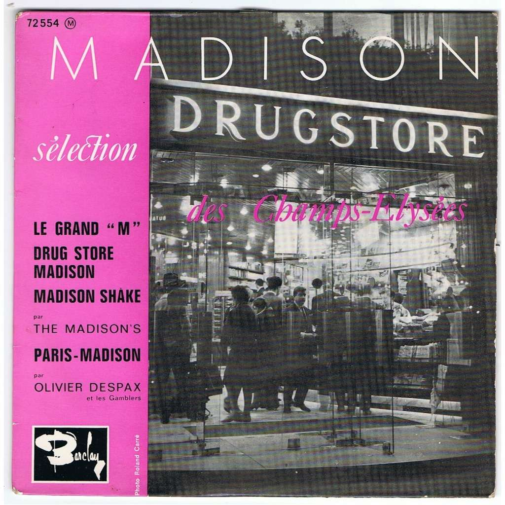 le grand m drug store madison madison shake paris madison de the madisons olivier despax ep. Black Bedroom Furniture Sets. Home Design Ideas