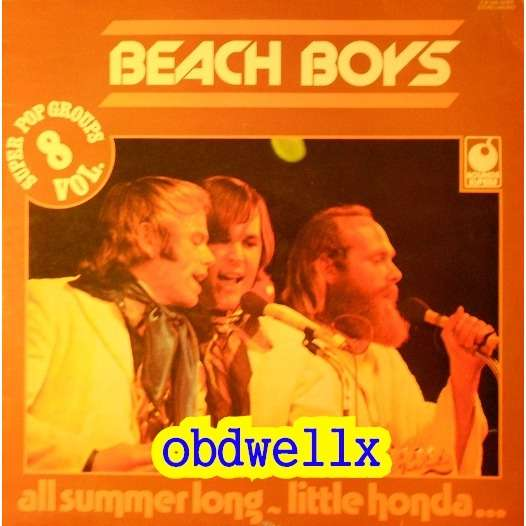 BEACH BOYS THE The Beach Boys - All summer long