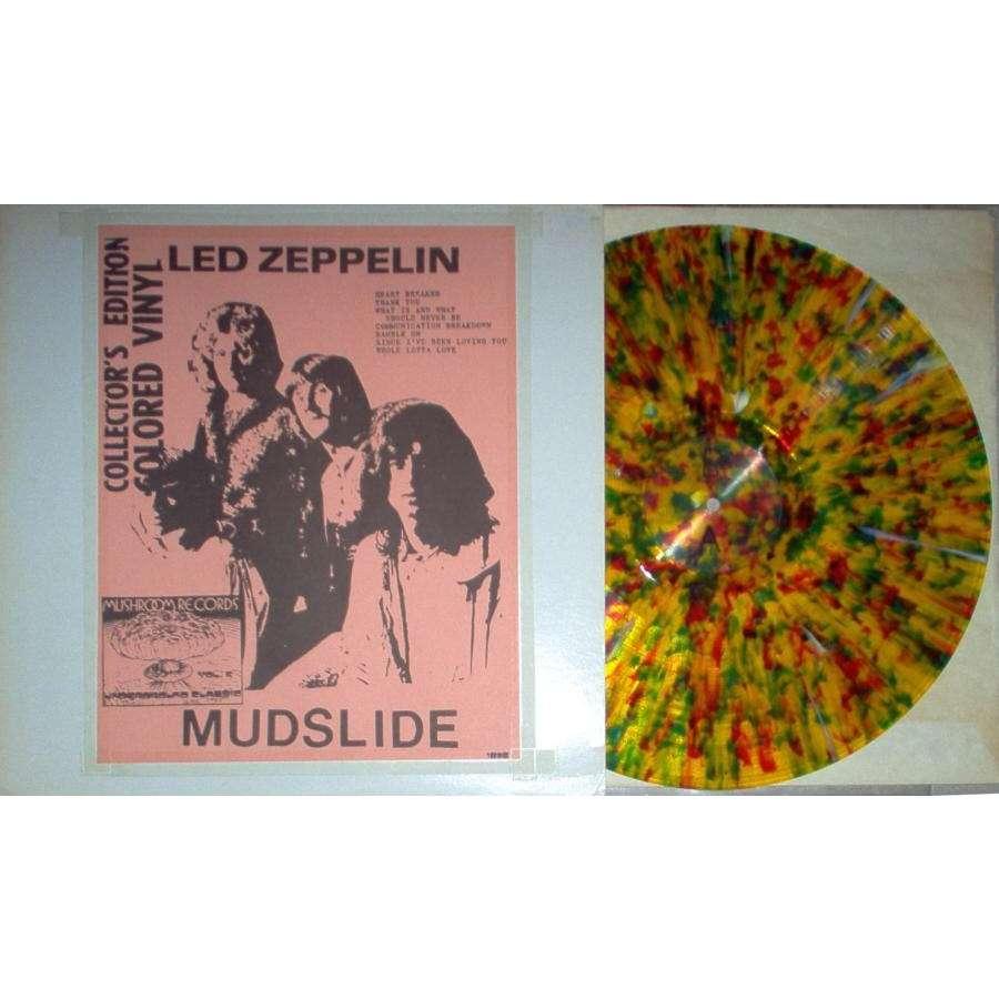 mudslide (mushroom records lbl test press lp multicolour vinyl