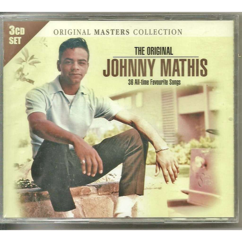 The original 36 all6time favorite songs by Johnny Mathis, CD x 3 ...