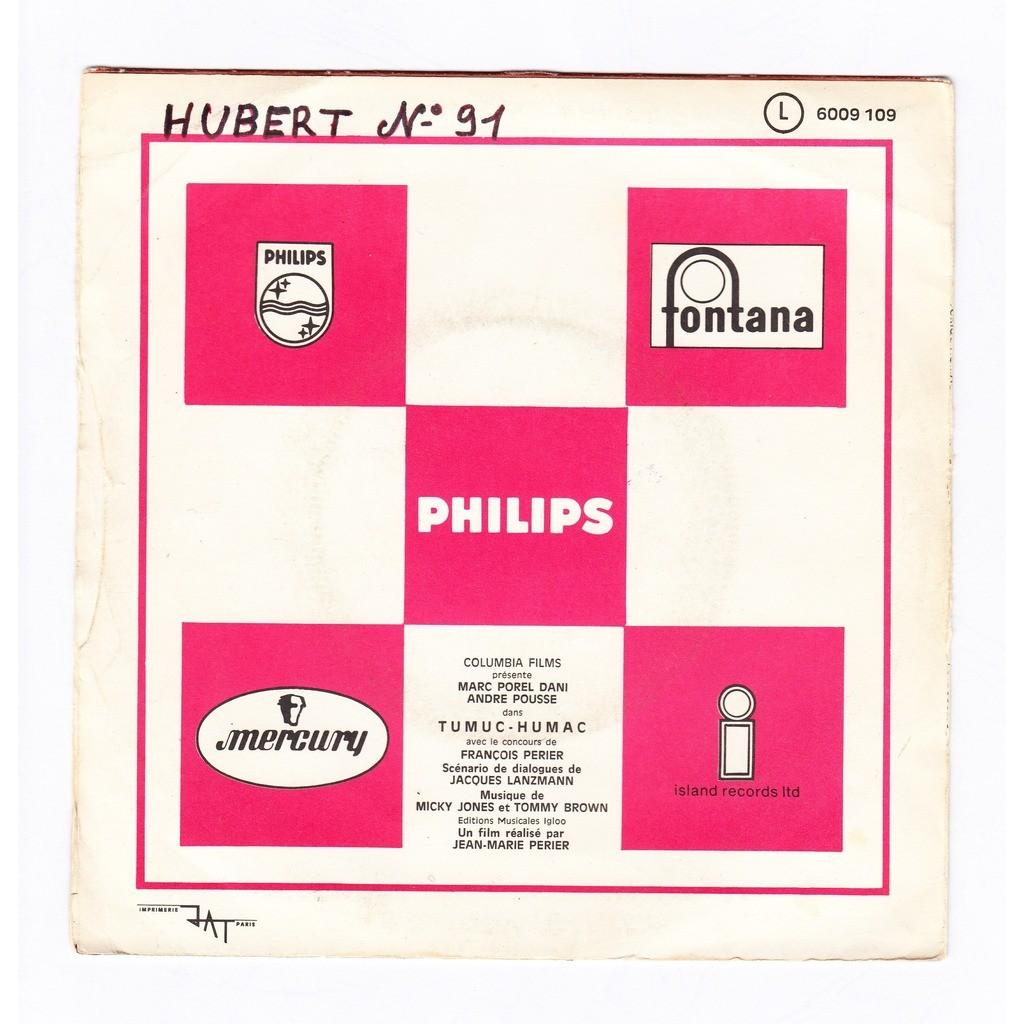 Micky Jones & Tommy Brown tumuc humac BO/OST du film de Jean-Marie Perier