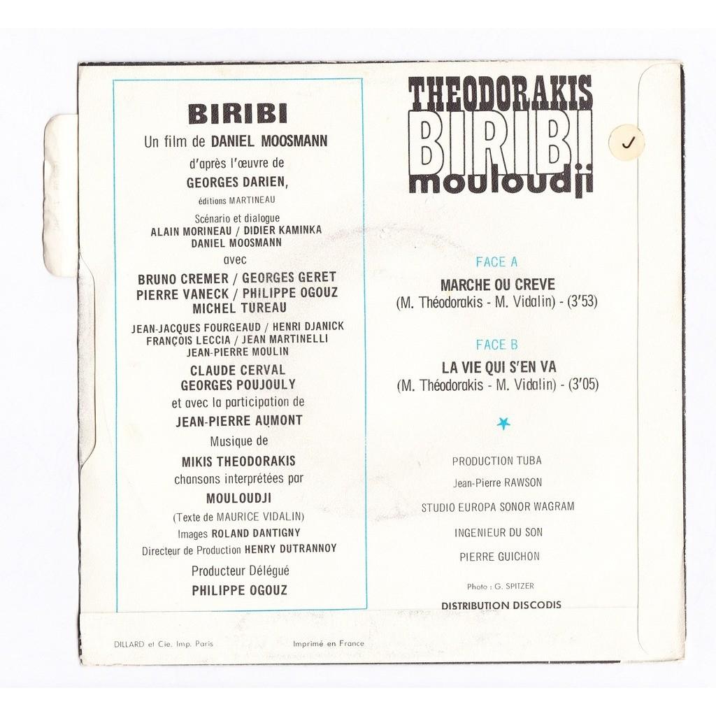 mikis theodorakis / Mouloudji biribi