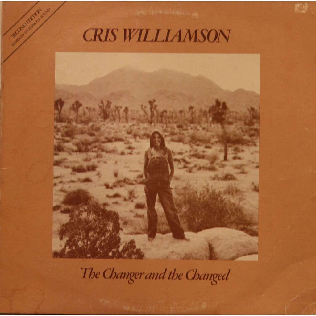 CHRIS WILLIAMSON The Changer And The Changed