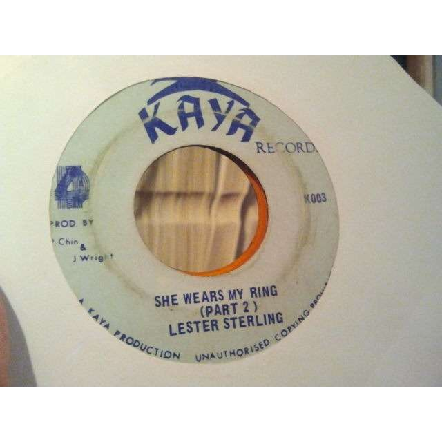 LYN TAITT / LESTER STERLING SHE WEARS MY RING / PART 2 ORIG