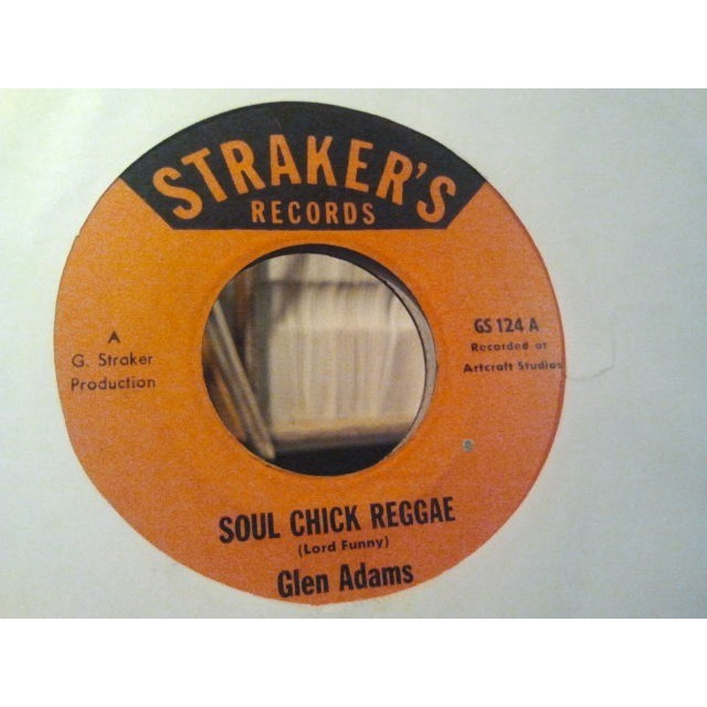 GLEN ADAMS / BLUE GRASS SOUL CHICK REGGAE / DREAD EXPERIENCE ORIG.