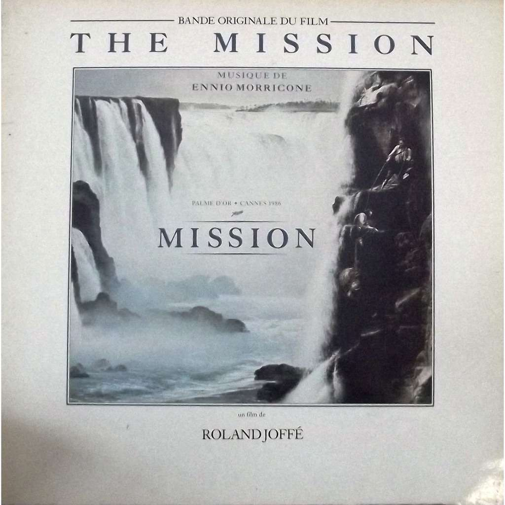 The Mission Bof Soundtrack By Ennio Morricone Lp With