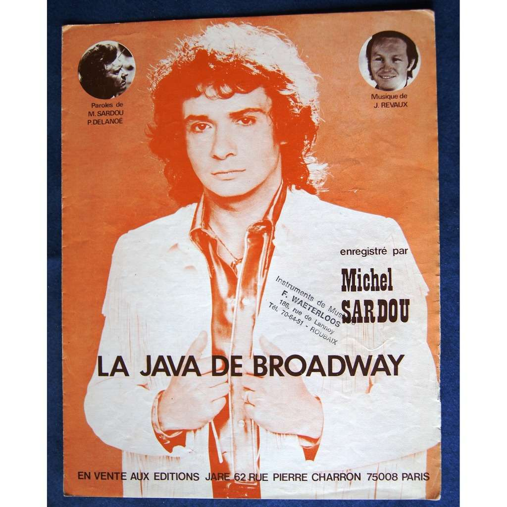michel sardou la java de broadway