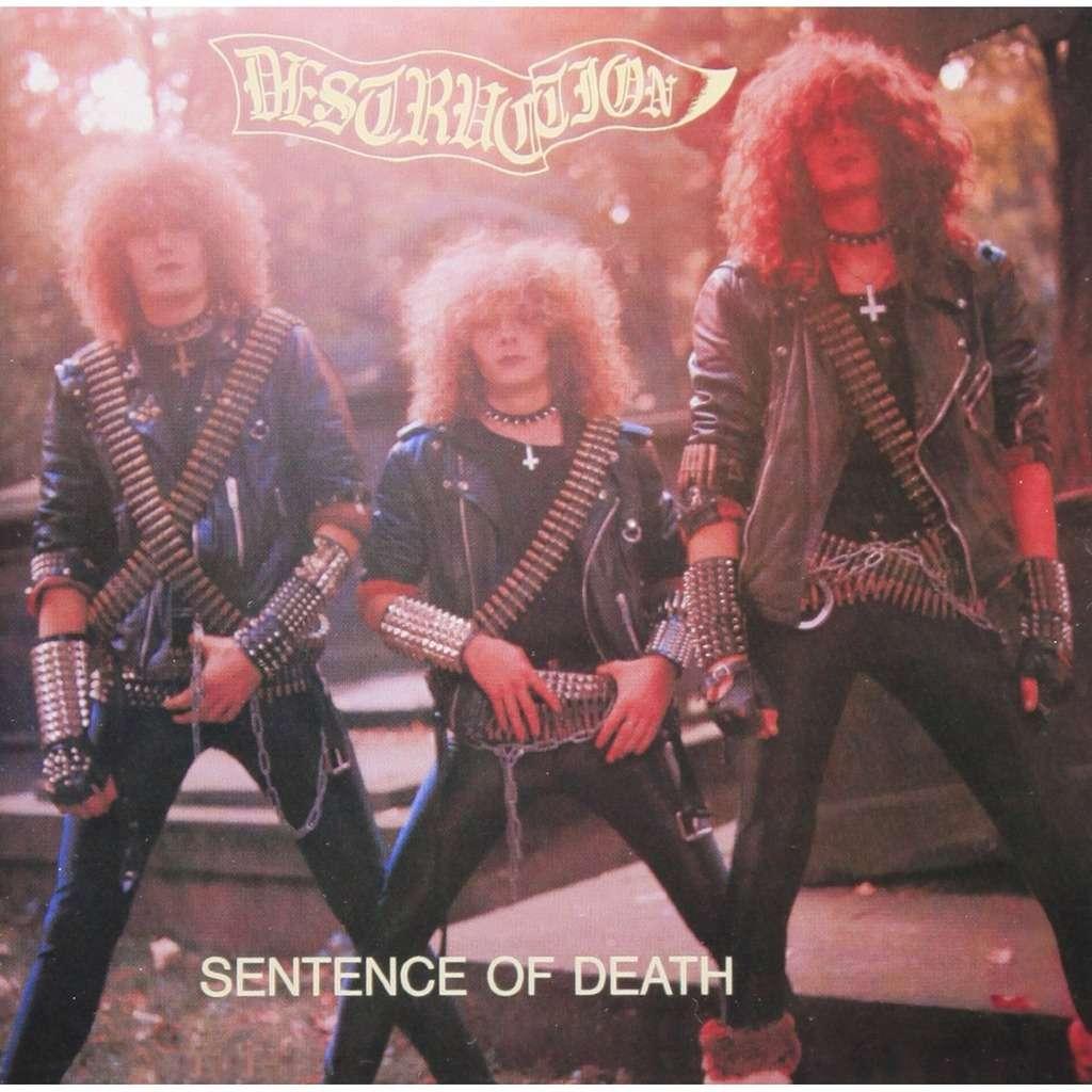 Sentence Of Death Infernal Overkill By Destruction Cd