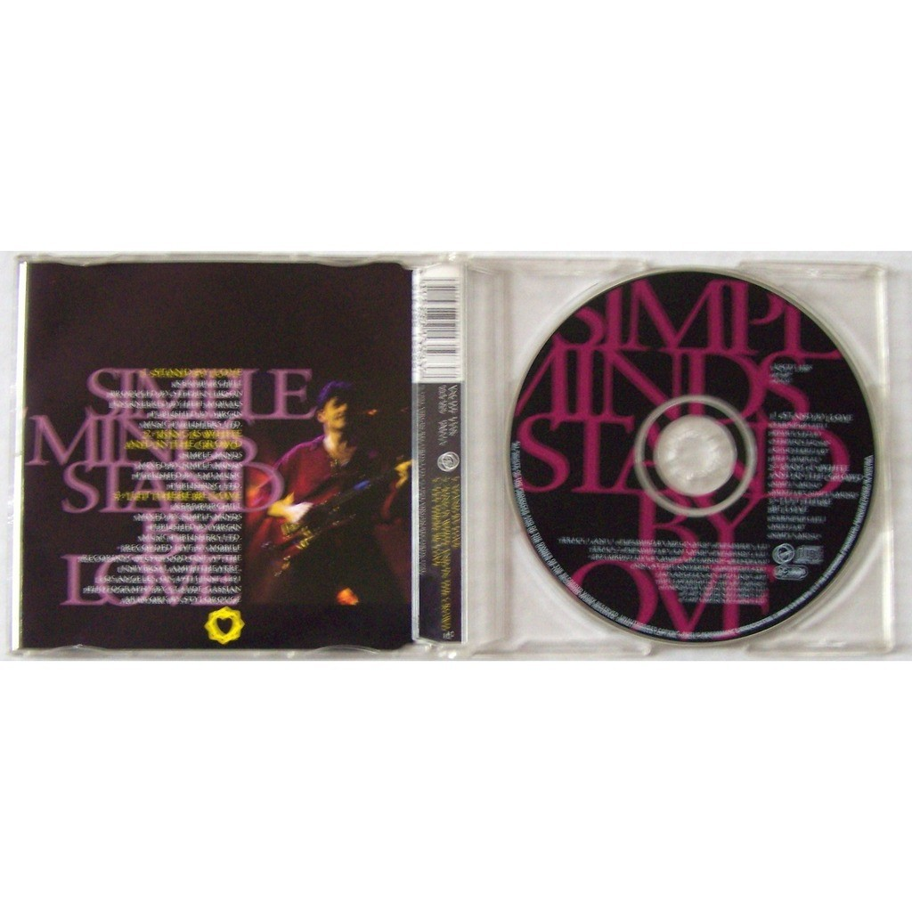 Simple Minds MAXI CD 3 Titres VSCDT1358 Stand By Love 1991 M EX