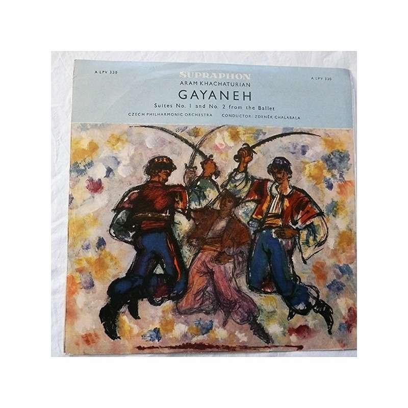 ZDENEK CHALABALA ARAM KHACHATURIAN : Gayaneh (danse du sabre) - Suite n°1 and 2 from the ballet