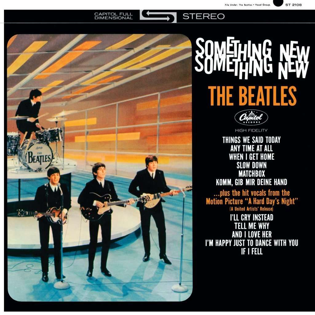 The Beatles Something New (mono & stereo versions)