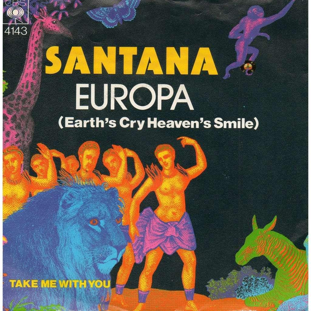 santana Europa , Take me with you