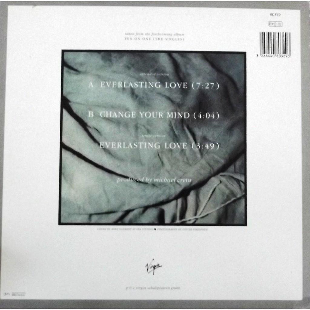 everlasting love by sandra 12inch with vinyl59 ref. Black Bedroom Furniture Sets. Home Design Ideas