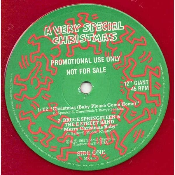 u2 christmas baby please come home australia 1987 ltd promo 12ep red wax - Christmas Baby Please Come Home U2