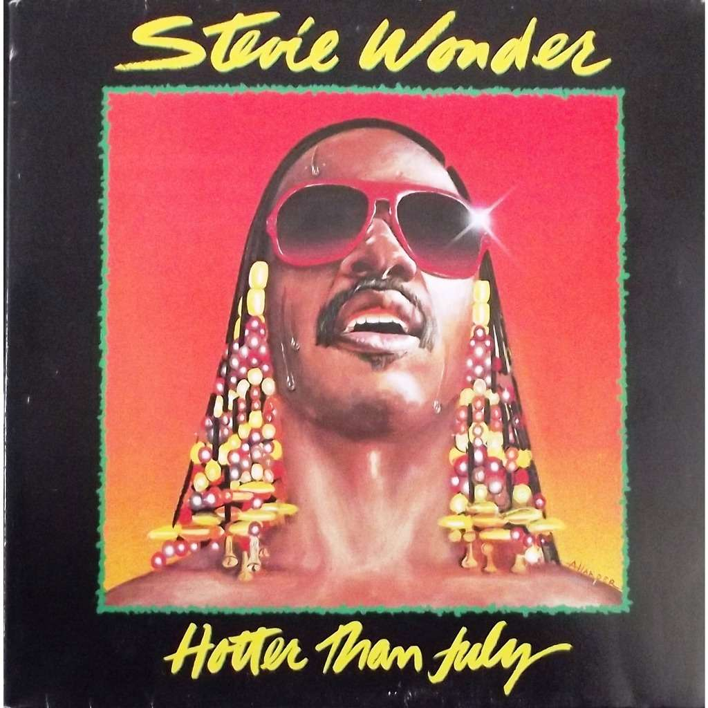 Hotter Than July Gatefold By Stevie Wonder Lp With