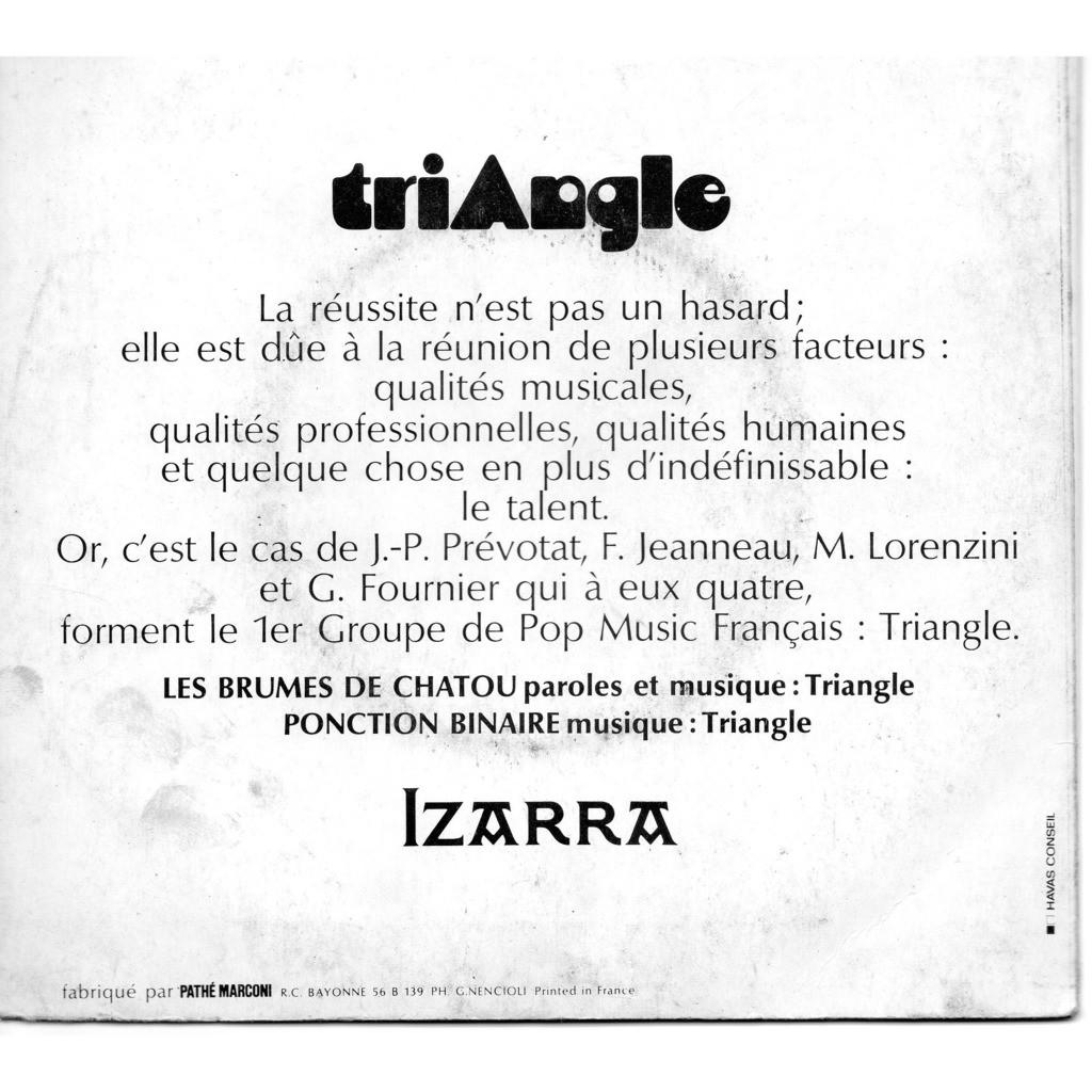 triangle Les Brumes de Chatou , Ponction binaire