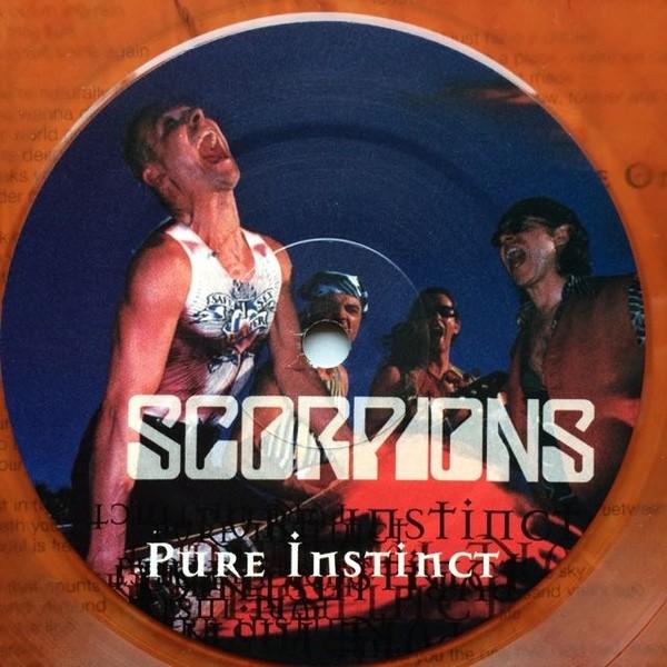 pure instinct lp ltd edit colour vinyl eu de scorpions
