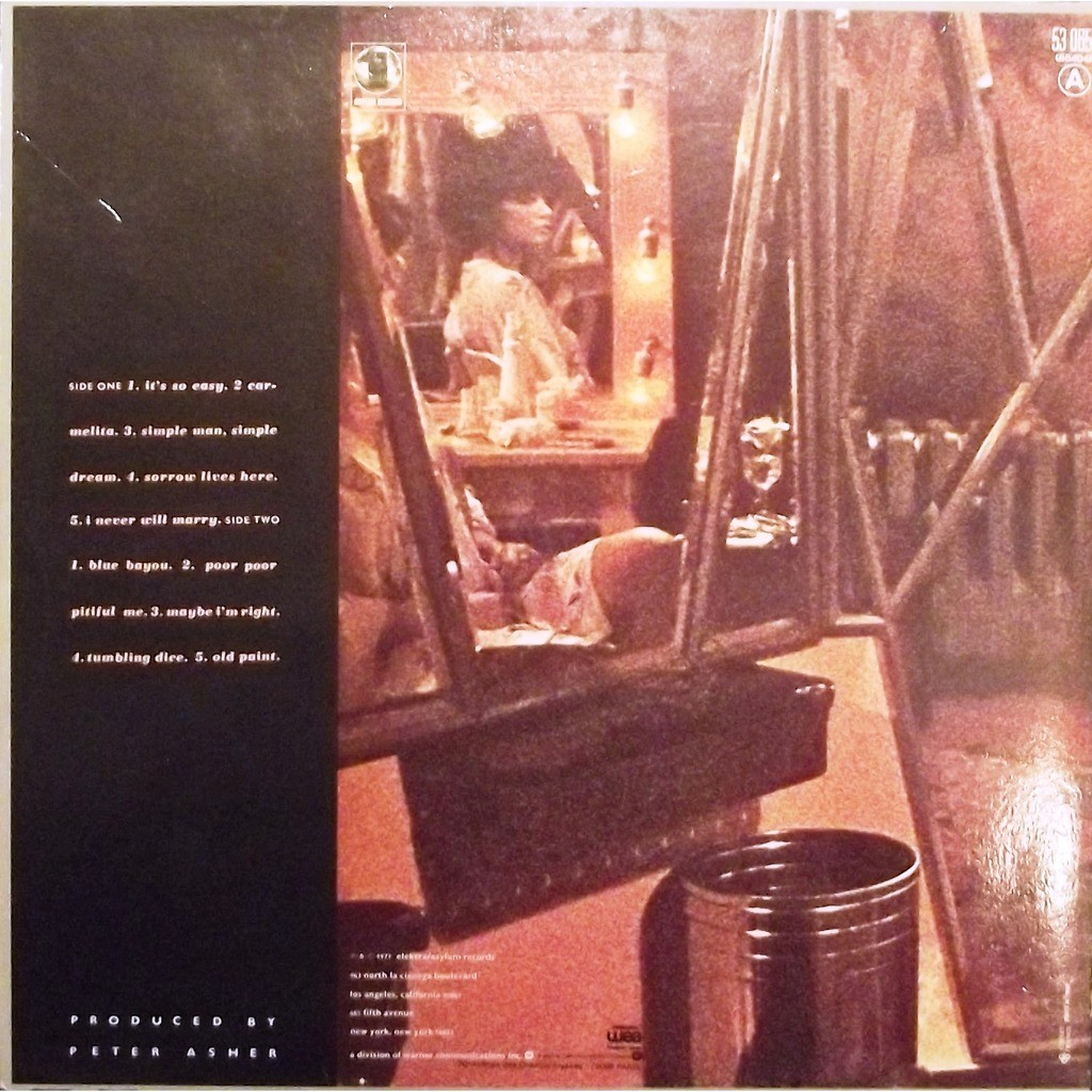 Simple Dreams Gatefold By Linda Ronstadt Lp With