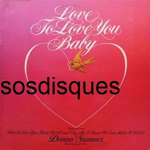 Donna Summer - Love To Love You Baby Donna Summer - Love To Love You Baby