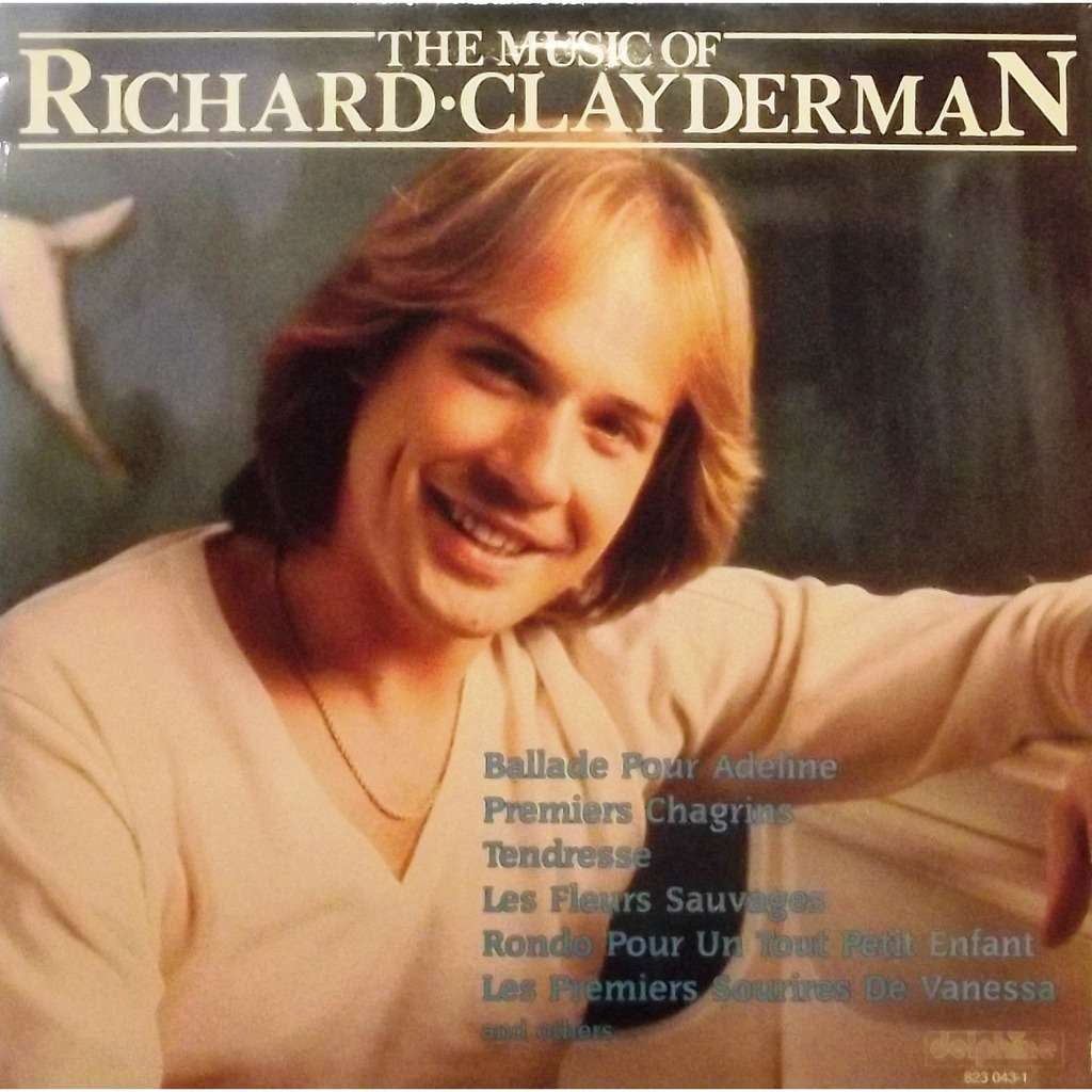 the music of richard clayderman ballade pour adeline de richard clayderman 33t chez vinyl59. Black Bedroom Furniture Sets. Home Design Ideas