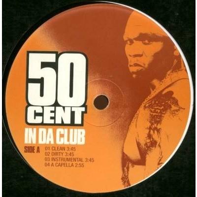 50 Cent In Da Club / Backdown